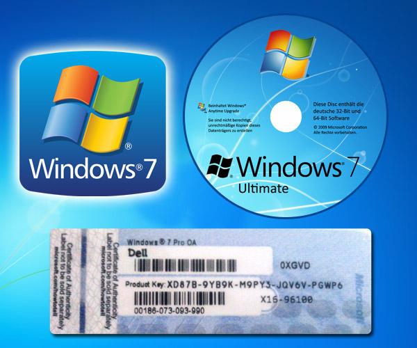 Windows 7 Product key 1
