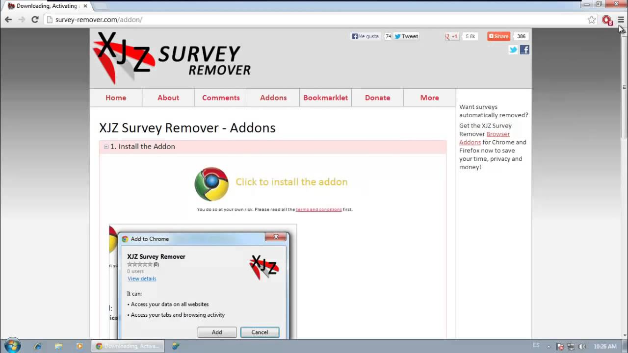 xjz survey remover free
